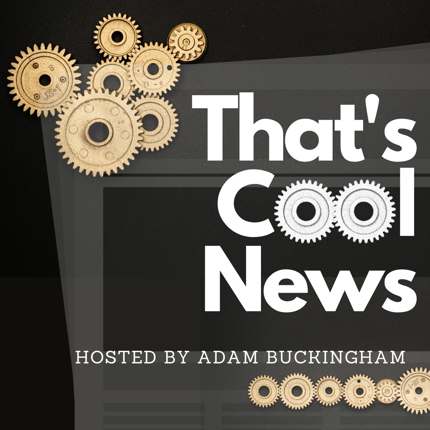 That's Cool News Podcast logo