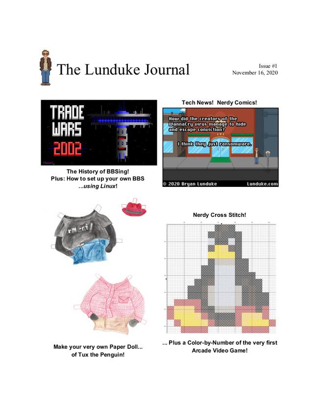 The Lunduke Journal - Issue 1