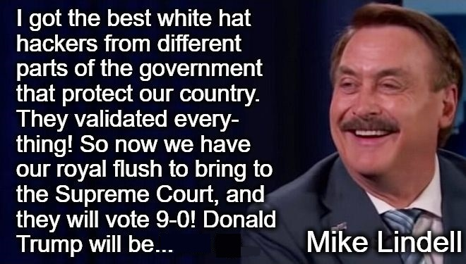 💥EXCLUSIVE VIDEO! Mike Lindell: I got the best white hat hackers from different parts of the ...